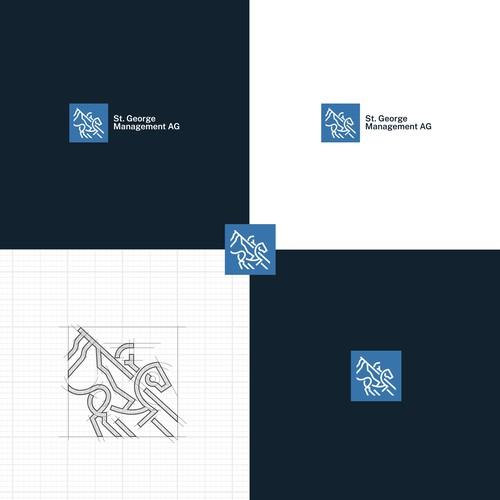 St George Management logo concept