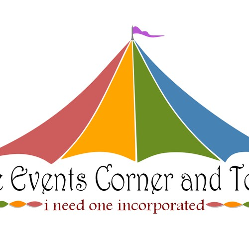 logo for The Events corner and Tours
