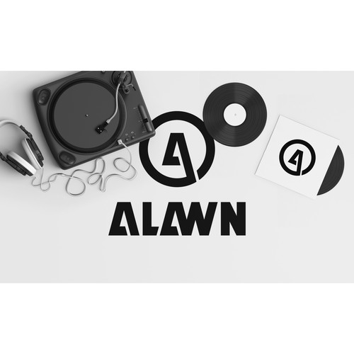 A logo for ALAWN, DJ/Music producer.