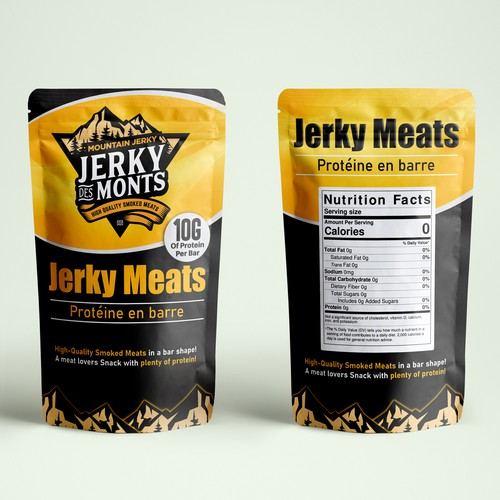 Food Label and Package Designs