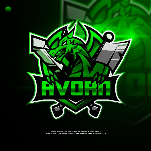 Logo Creation for Twitch Gaming Streamer