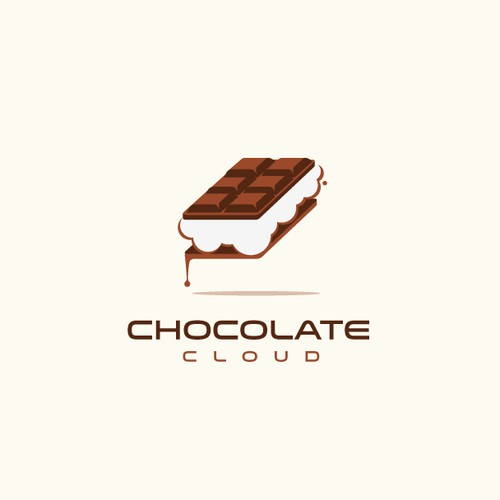 Logo and Concept for Chocolate Cloud