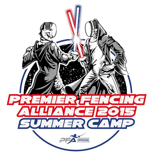 Fencing Camp T-Shirt Star Wars Themed