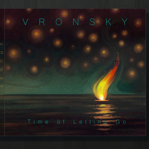 Album cover art for Vronsky's 2nd album, 'Time of Letting Go'