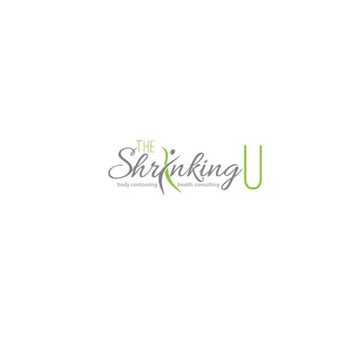 The Shrinking U logo