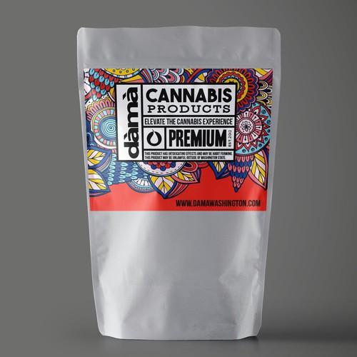 Dama Cannabis label.