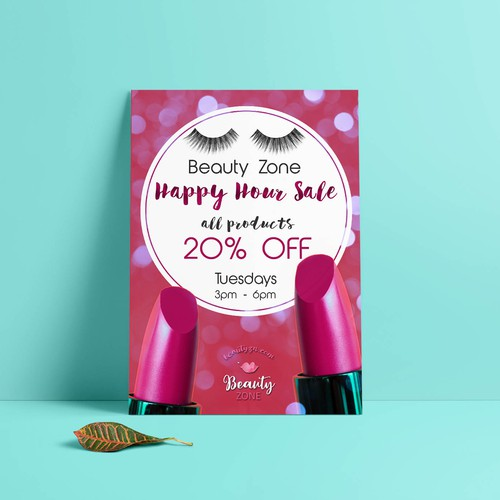 Happy Hour Sale Poster 2