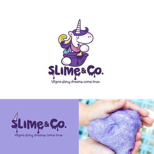 logo for Slime & Co.