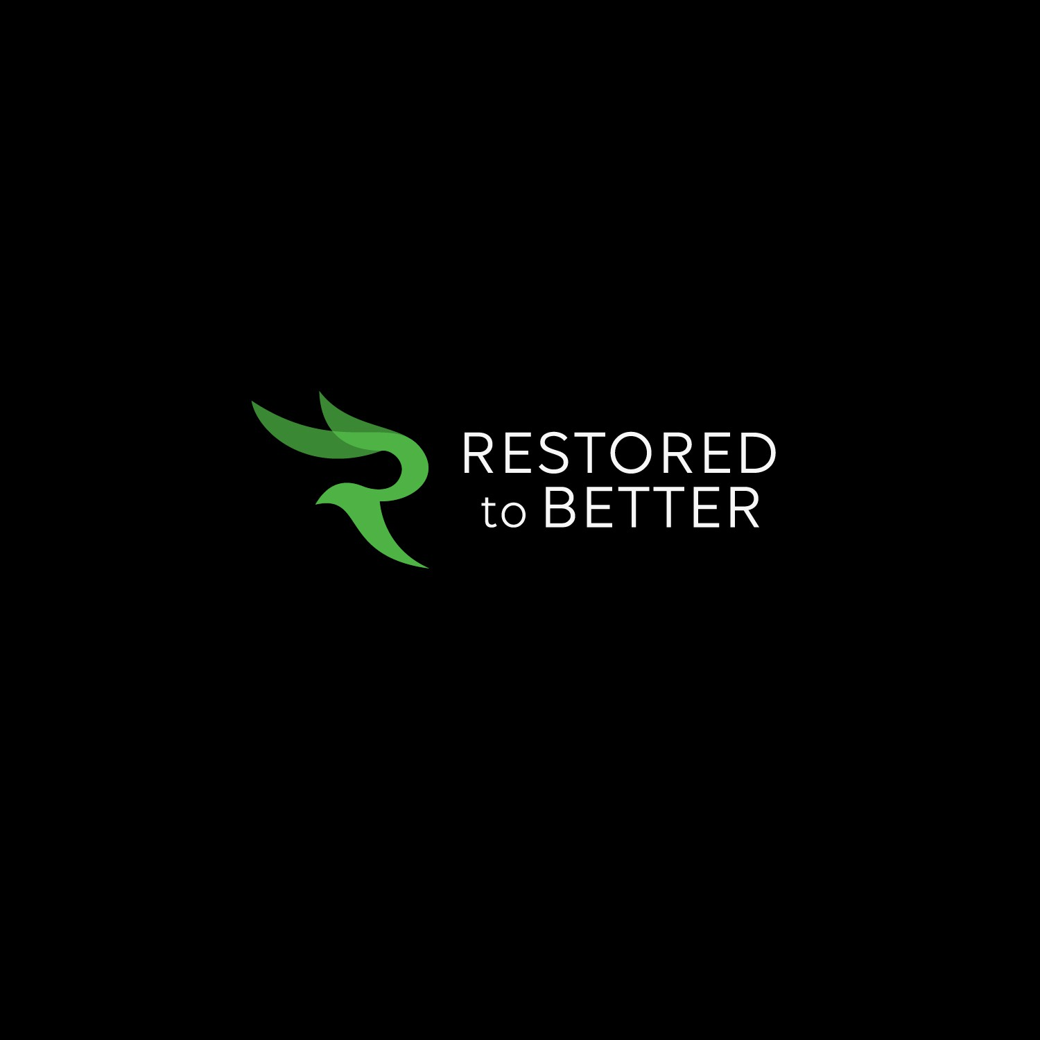 Simple, clean, natural logo for a lifestyle business focused on restoration, including home