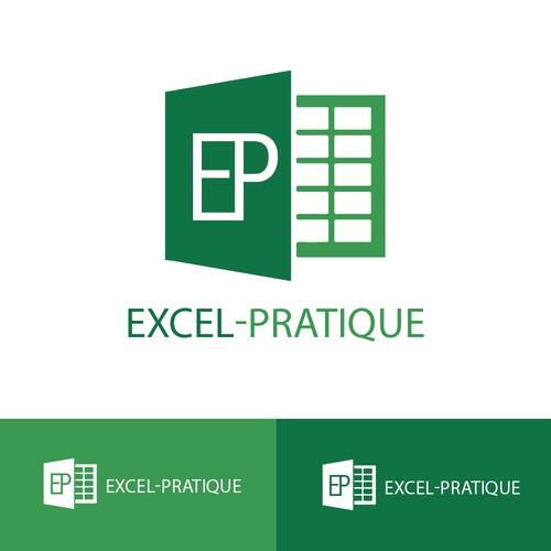Conception de logo pour Excel-Pratique (Refusé)