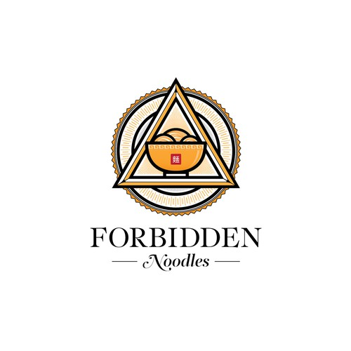 Logo for Forbidden Noodles