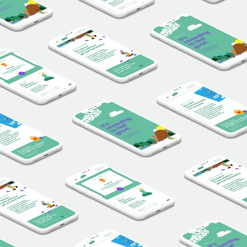 WalkToday Web Concept