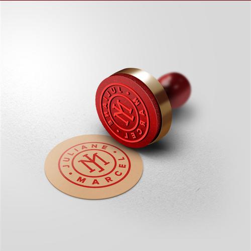 Monogram Emblem Symbol Logo concept