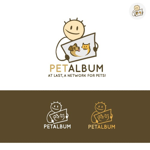 Fun logo for new social network for pets!
