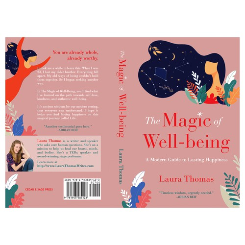 "Book cover for ""The Magic of Well-being"""