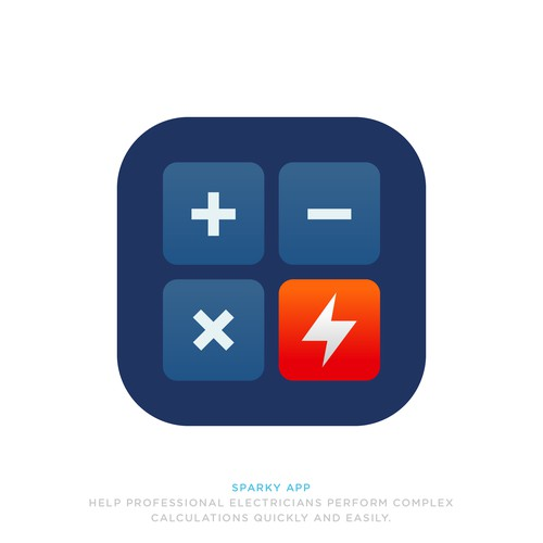 App icon design for Sparky