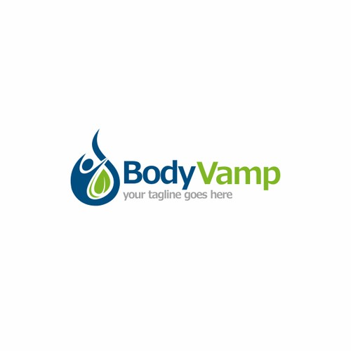 Create a logo for our health and wellness business- Body Vamp