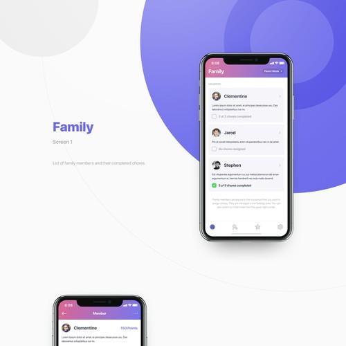 Family chores app