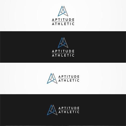 geometric logo concept for Aptitude Athletic