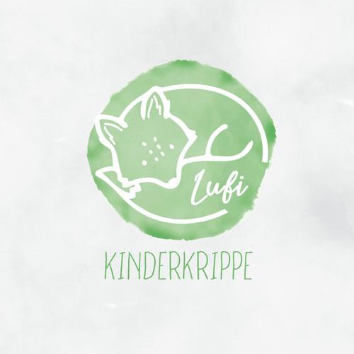 """Logoillustration """"Fuchs"""" für eine Kinderkrippe"""