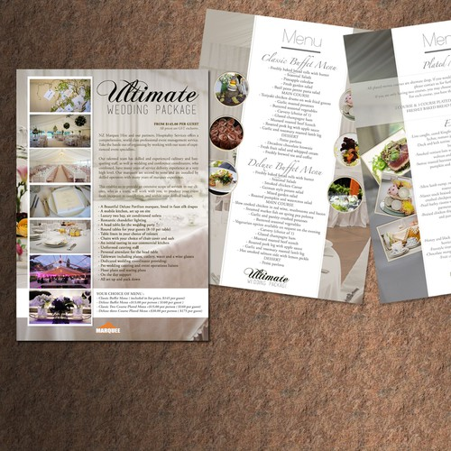 Ultimate Wedding Package - 4_Page PDF Design - Beautiful & Sophisticated