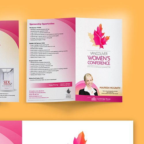 Vancouver Women's Conference Brochure