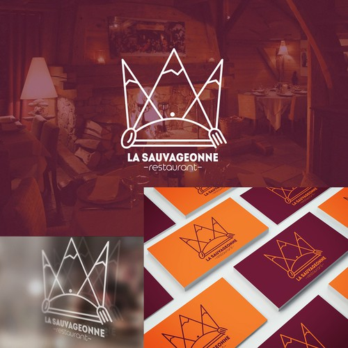 la sauvageonne restaurant logo