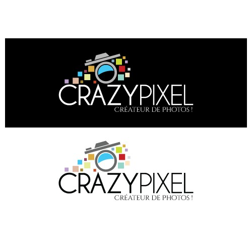Créez THE Logo CRAZY PIXEL ! Photographe