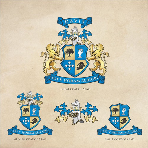 family crest for family firm