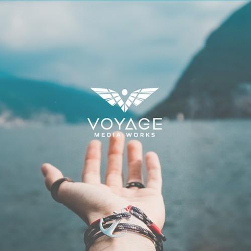 Discover the Voyage Media Works logo !