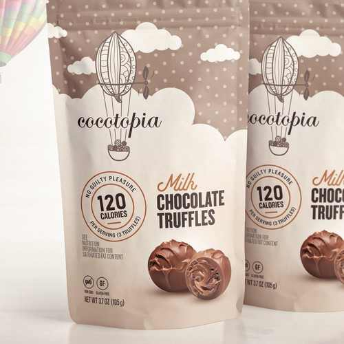 Chocolate Truffles Cocotopia Pouch