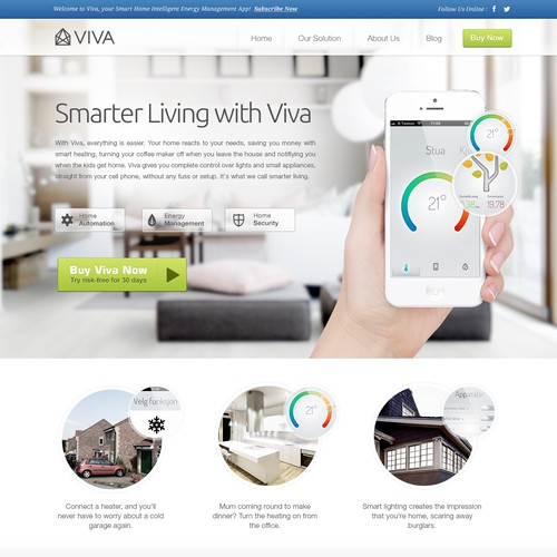 Webshop design for ViVA Labs AS [sketches provided]