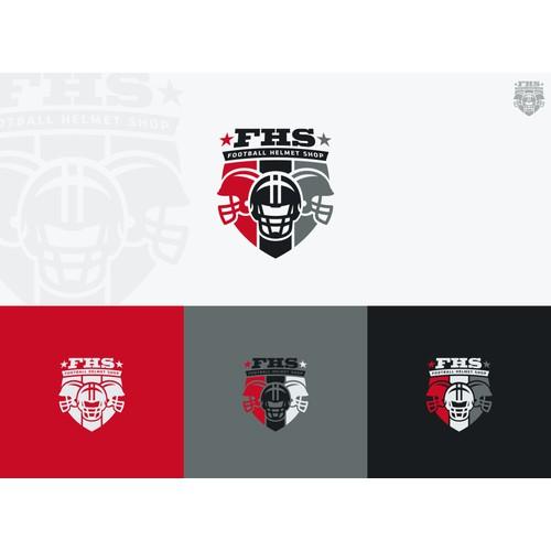 logo for Football Helmet Shop
