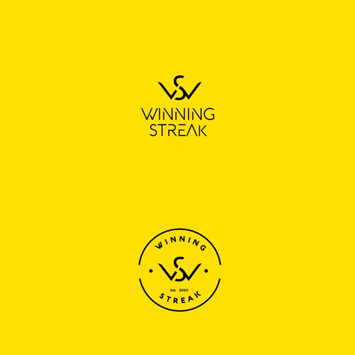 Logo design for winning streak