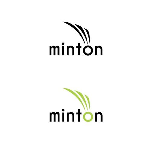 Logo concept for badminton group