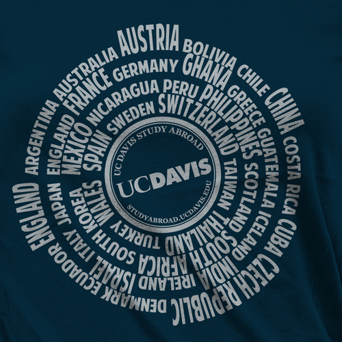 Study Abroad T-Shirt Contest
