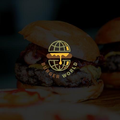Logo Design for Burger World.