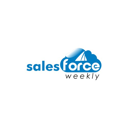 New logo for Salesforce Weekly community blog!
