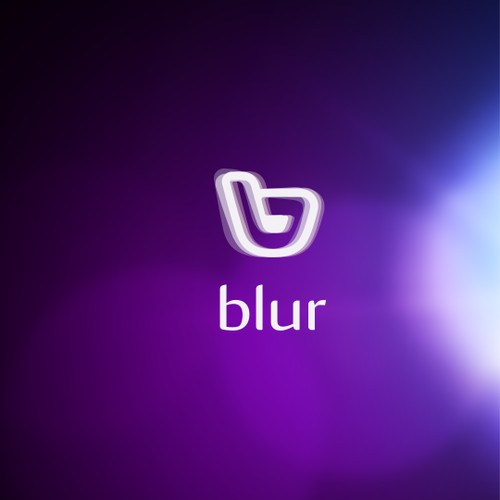 Logo design for blur