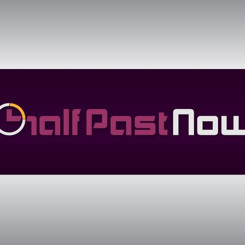 new, fresh logo for halfpastnow.