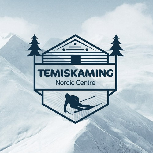 Logo cross-country ski