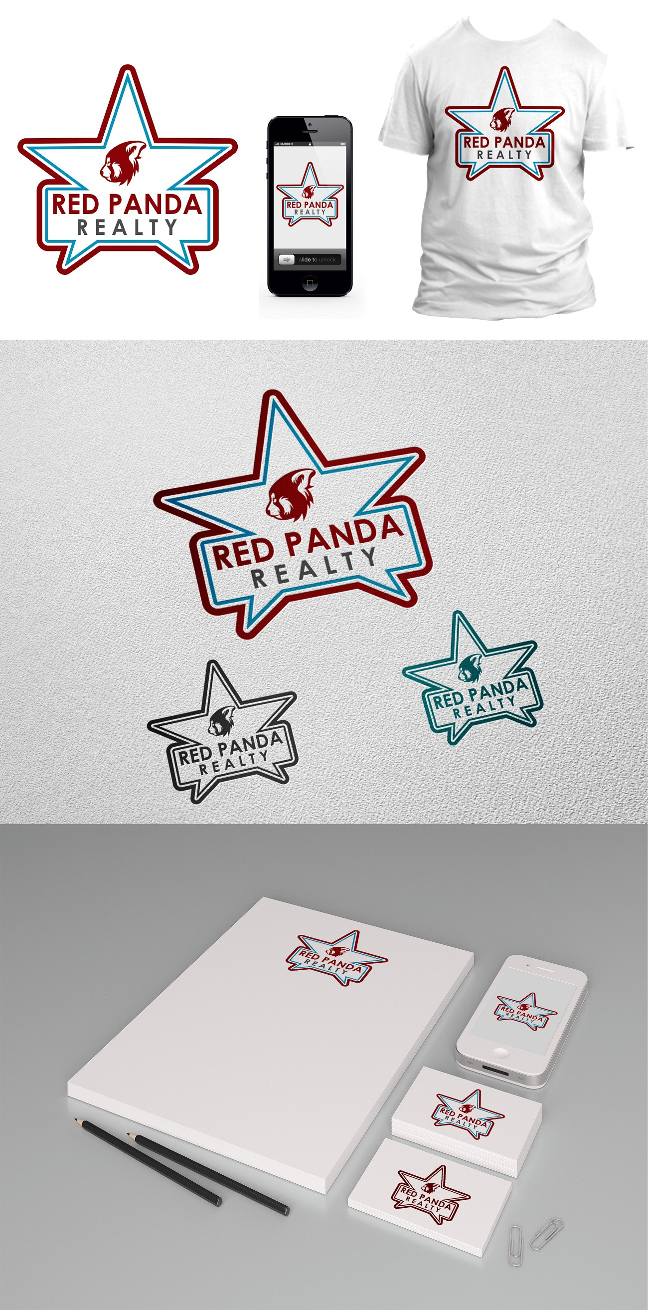 logo for Red Panda Realty