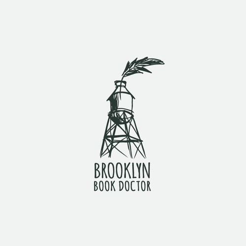 Logo Concept for Brooklyn Book Doctor