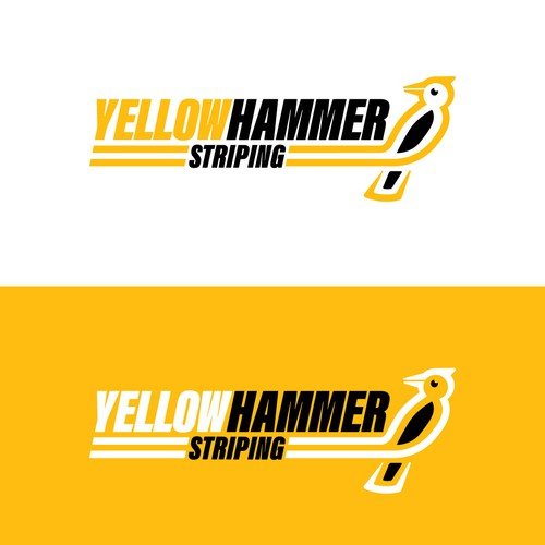 Logo for a parking lot striping Company