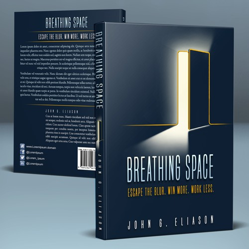 Cover for BREATHING SPACE