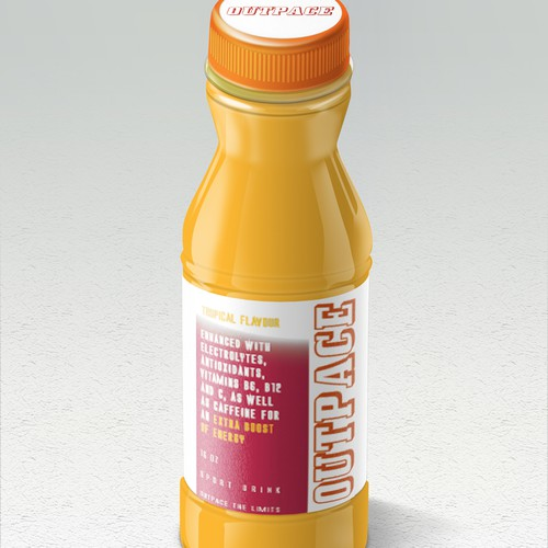 Energy drink label
