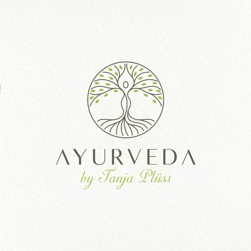Logo Design Concept for Ayurveda