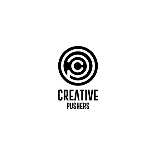 Creative Pushers Logo Design