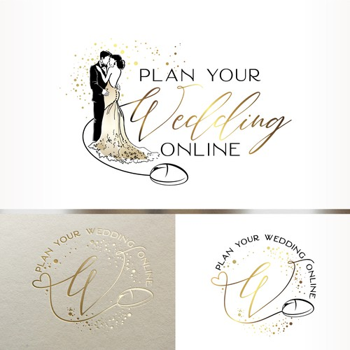 Logo for Online Wedding Service