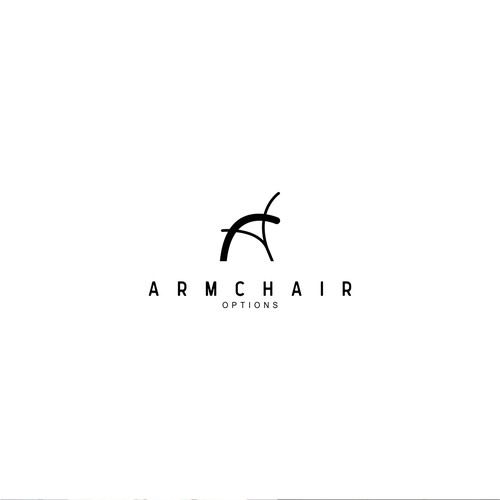 Simple logo for Armchair Options